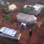 Idlib / Nordwestsyrien | Verteilung von Heizmitteln in den Lagern